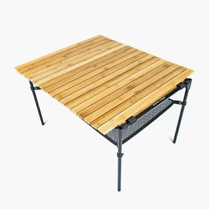 あすつく対応 ミニマルワークス MINIMAL WORKS Mocha Roll Table Bamboo Bamboo/Black|vic2