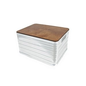 ミニマルワークス MINIMAL WORKS Aluminium Container U50 Wood Cover  Wood|vic2