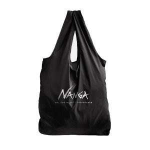 ナンガ NANGA Nanga Pocketable EcoBag BLK|vic2