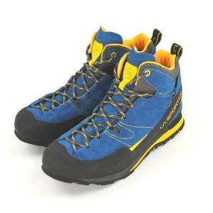 スポルティバ LA SPORTIVA ボルダーX ミッド GTX Boulder X Mid Blue/Yellow 登山靴 シューズ ビブラム トレッキング|vic2