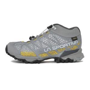 スポルティバ LA SPORTIVA Womens Synthesis Mid GTX MidGrey/Yellow シンセシス ゴアテックス シューズ 登山靴 レディース|vic2