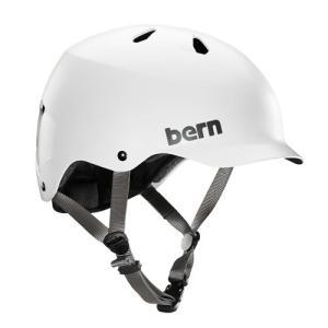バーン Bern ヘルメット WATTS Satin White ワッツ サテンホワイト 自転車 JAPAN FIT 日本人向けフィッティング メンズ vic2