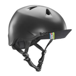バーン Bern ヘルメット キッズ NINO(Visor付...