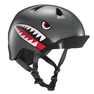 バーン Bern ヘルメット キッズ NINO Satin Grey Flying Tiger 子供用 ニーノ 自転車 バイク スポーツ vic2