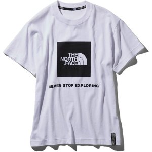 ノースフェイス THE NORTH FACE RAGE S/S Box Logo Tee ホワイト (W) NT31964|vic2
