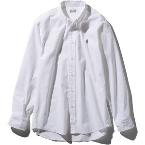 ノースフェイス THE NORTH FACE L/S Him Ridge Shirt ホワイト (W) NR11955|vic2