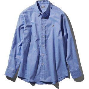 ノースフェイス THE NORTH FACE L/S Him Ridge Shirt サックス (SX) NR11955|vic2