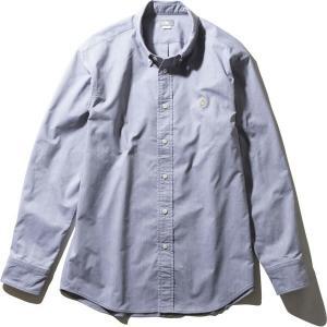 ノースフェイス THE NORTH FACE L/S Him Ridge Shirt ジンクグレー (ZG)|vic2