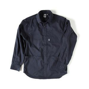 グリップスワニー Grip Swany FP Work Shirt Navy ファイヤープルーフワークシャツ GSS-22|vic2