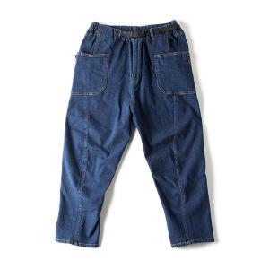 グリップスワニー Grip Swany Jog 3D Wide Camp Pants インディゴ GSP-59|vic2