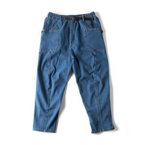 グリップスワニー Grip Swany Jog 3D Wide Camp Pants ライトインディゴ GSP-59|vic2