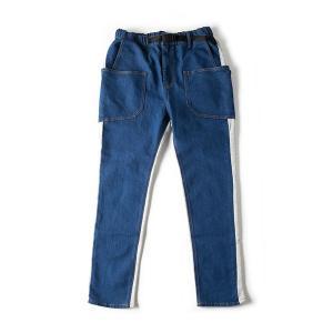 グリップスワニー Grip Swany Union Camp Pants インディゴ×グレー GSP-60|vic2