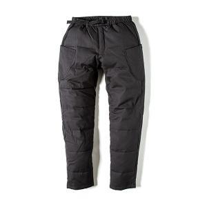 グリップスワニー Grip Swany Fireproof Down Camp Pants チャコールBK GSP-56 vic2
