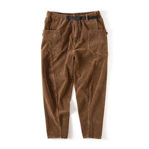 グリップスワニー Grip Swany Jog 3D Corduroy Wide Camp Pants Walnuts GSP-63|vic2