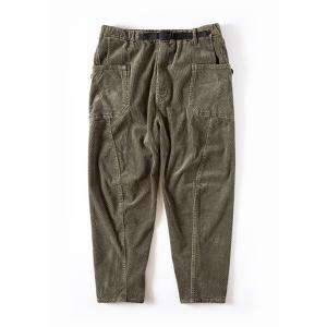 グリップスワニー Grip Swany Jog 3D Corduroy Wide Camp Pants Olive GSP-63 vic2