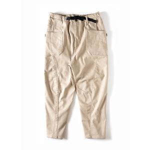 グリップスワニー Grip Swany Jog 3D Lining Wide Camp Pants Sand Beige GSP-64|vic2