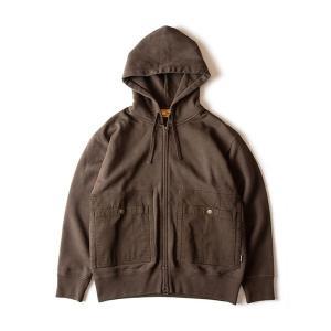 グリップスワニー Grip Swany Camp Pocket Hoodie DKオリーブ GSC-29 vic2