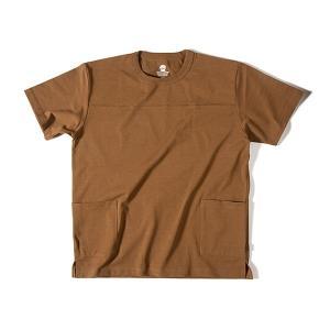グリップスワニー Grip Swany Pocket T Shirt Md.Brown|vic2