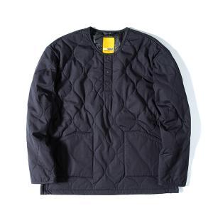 グリップスワニー Grip Swany Fireproof Quilt Pullover Black|vic2