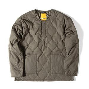 グリップスワニー Grip Swany Fireproof Quilt Pullover Olive|vic2