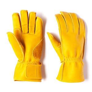 グリップスワニー Grip Swany G-2 革手袋 スワニーイエロー レザーグローブ vic2