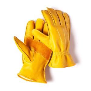 グリップスワニー Grip Swany G-6 革手袋 スワニーイエロー レザーグローブ|vic2