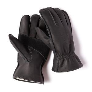 グリップスワニー Grip Swany G-6B 革手袋 ブラック レザーグローブ|vic2