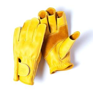 グリップスワニー Grip Swany G-11 革手袋 スワニーイエロー レザーグローブ vic2