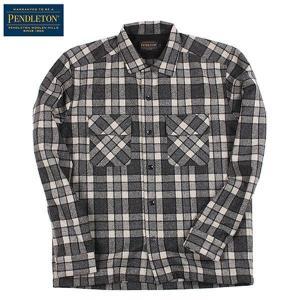 ペンドルトン PENDLETON ボードシャツ JPFit Grey vic2