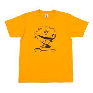 カリーメイソン CURRYMASON Logo S/S Yellow|vic2