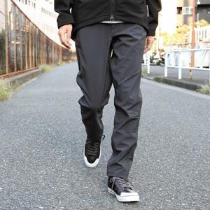 スワーブ SWRVE softshell regular trousers gray ソフトシェル トラウザー ロング パンツ メンズ|vic2