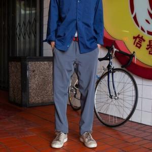 スワーブ SWRVE transverse downtown trousers grey|vic2