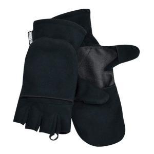 テラノバ TERRA NOVA Windy Convertible Mitt Black ウィンディコンパーチブルミット 手袋 ウインドストッパー vic2