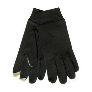 テラノバ TERRA NOVA Merino Touch Liner Glove Black メリノタッチライナーグローブ 手袋 スマホ対応 vic2