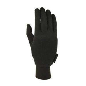 テラノバ TERRA NOVA Silk Liner Glove Black シルクライナーグローブ 手袋 vic2