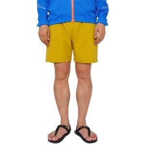 ティートンブロス Teton Bros. Scrambling Short Golden Yellow スクランブリング ショートパンツ|vic2