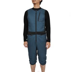 ティートンブロス Teton Bros. Hoback Hybrid Suit Graphite ホバックハイブリットスーツ ツナギ ワンピース 中綿|vic2