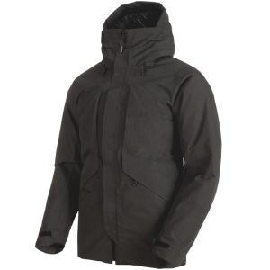 マムート MAMMUT Mens Seon HS Thermo Hooded Coat black|vic2