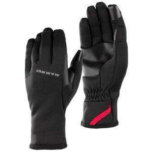 マムート MAMMUT Fleece Pro Glove black|vic2