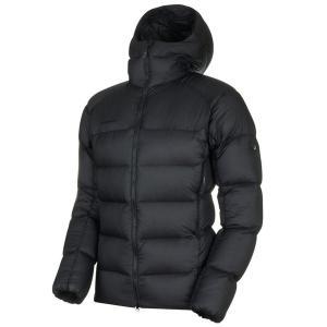 マムート MAMMUT Mens Meron IN Hooded Jacket AF Black-Black|vic2