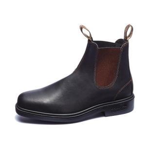 ブランドストーン Blundstone Dress Boots スムースレザー スタウトブラウン 2019年新作|vic2