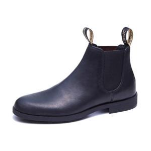 ブランドストーン Blundstone Dress Boots スムースレザー ブラック|vic2
