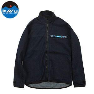 カブー KAVU F/Z スローシャツ Denim スローシャツ ロングスリーブ フルジップ|vic2