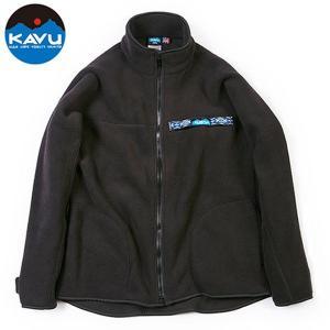 30%OFF vic2セール カブー KAVU フリース F/Z スローシャツ ブラック スローシャツ ロングスリーブ フリース|vic2