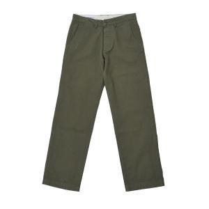バンブーシュート BAMBOO SHOOTS Utility Pants Olive ユーティリティ パンツ 4ポケット ミリタリー|vic2