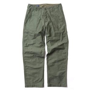 バンブーシュート BAMBOO SHOOTS Fatigue Pants Olive 2011704|vic2