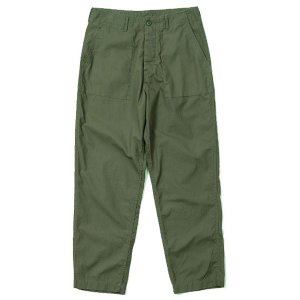 バンブーシュート BAMBOO SHOOTS Ripstop Fatigue Pants Olive|vic2