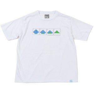 30%OFF vic2セール バンブーシュート BAMBOO SHOOTS Mountain Tee White|vic2