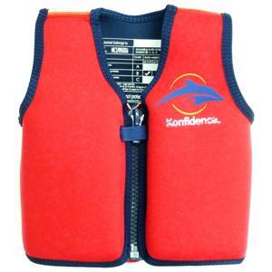 コンフィデンス Konfidence コンフィデンス ジャケット レッド スイミング用ジャケット スイムベスト キッズ 子供用 浮力調整可能 プール ビーチ 海 AKKF0050101|vic2