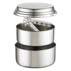 ◆商品概要:ALPINE 2 POT SET  1.5リットル鍋と2リットル鍋、蓋、パンハンドラー、...